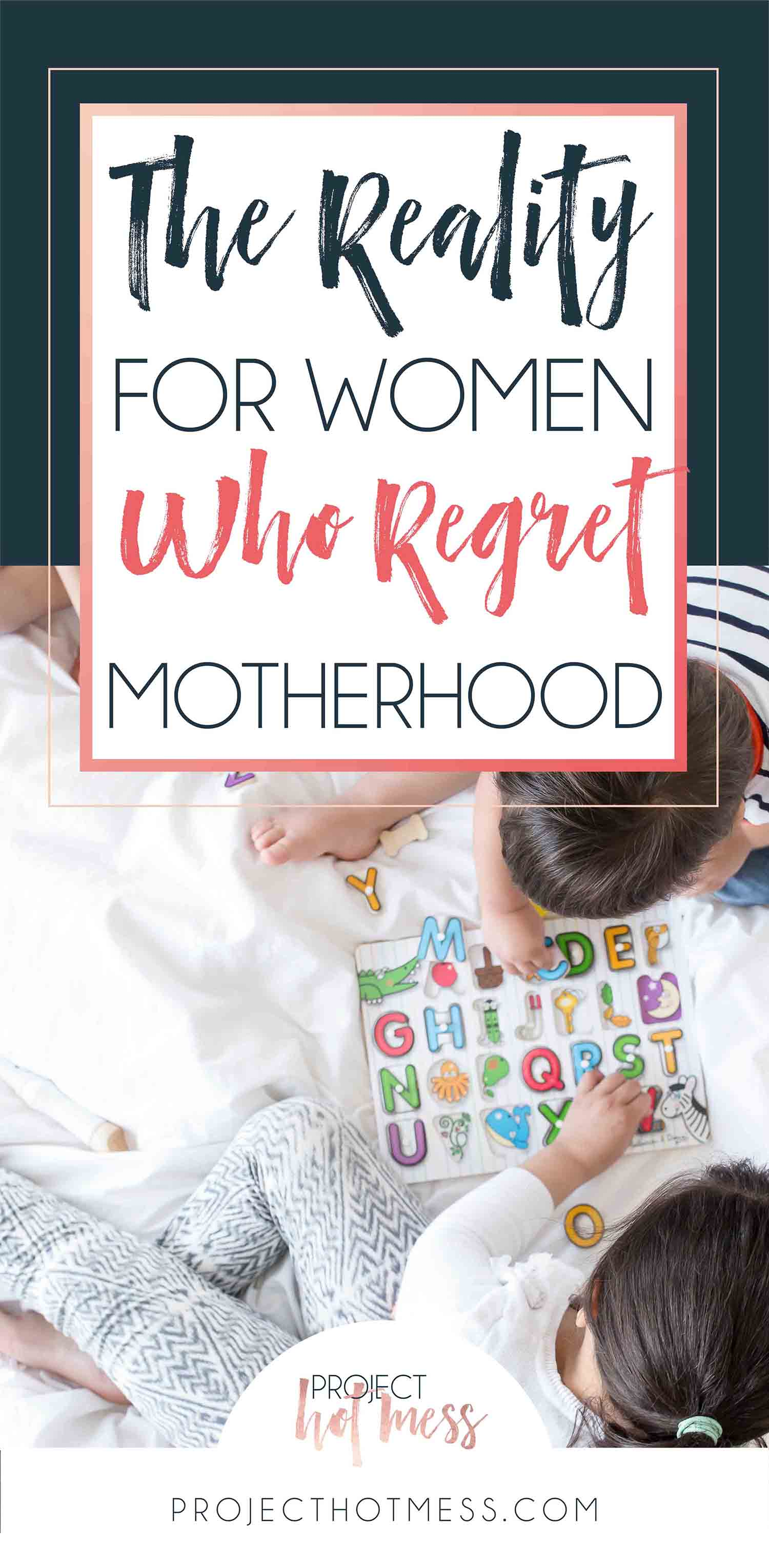 Motherhood doesn't come easy for many women, and for some it just doesn't fit at all. The reality is, there are women who regret motherhood and that's okay! These women need our support, not our criticism. This is why.