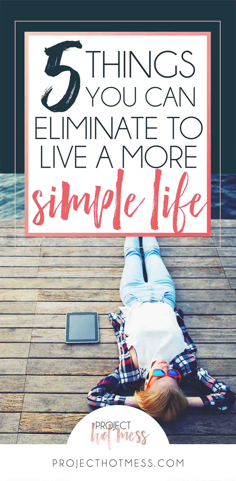 So many people want to live a more simple life, especially given how hectic our lives seem to be. This is the perfect start to living a more simple way, clearing from you life things that no longer work from you and some basic decluttering that won't take you months to do but will make all the difference. You don't have to have a minimalist lifestyle to live a more simple life.