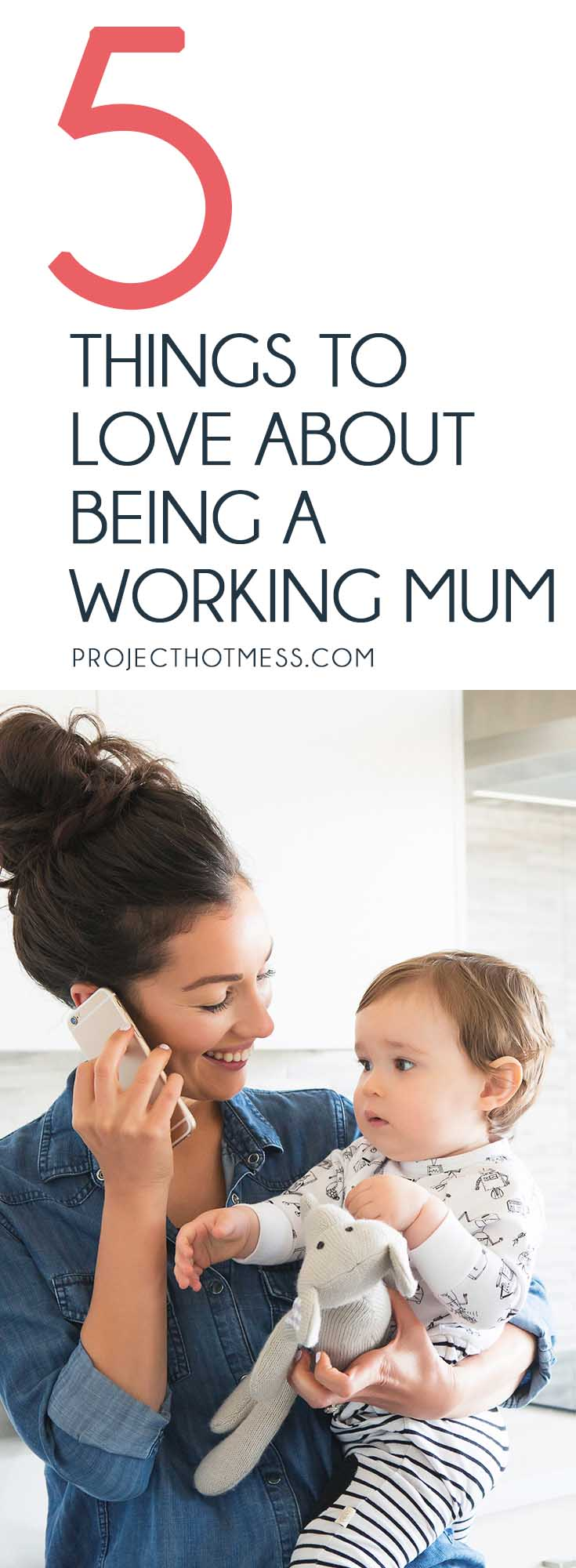 There's no doubt about it, being a working mum is tough. (Heck just being a mum is tough). But there are some things I love about it that make it worthwhile.