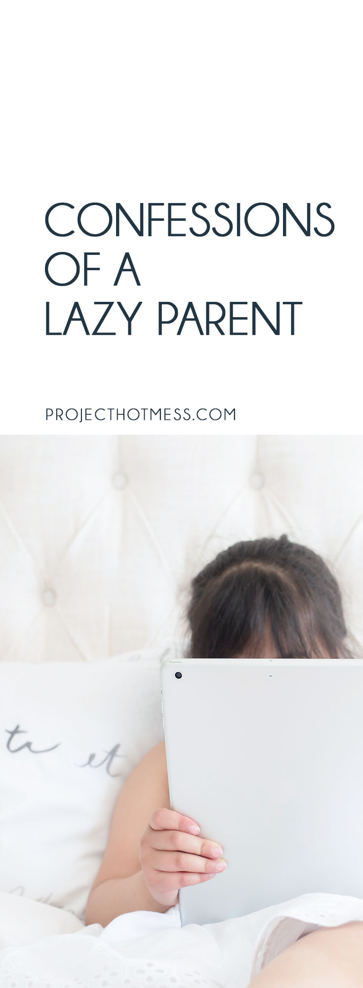 I'm not one of those Pinterest Perfect mums. I probably fall a little more into the 'lazy parent' category. But I'm not convinced that's a bad thing really.