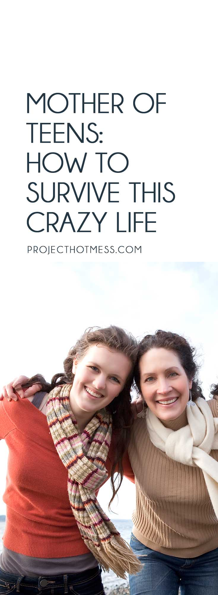 Teenagers are a whole new game as a parent, but there is a way you can survive the crazy life of being a mother of teens, without going completely bonkers. Parenting | Parenting Advice | Mom Life | Parenting Goals | Parenting Ideas | Parenting Tips | Parenting Types | Parenting Hacks | Positive Parenting | Parenthood | Motherhood | Surviving Motherhood | Teenagers | Teen Parenting | Parenting Teenagers