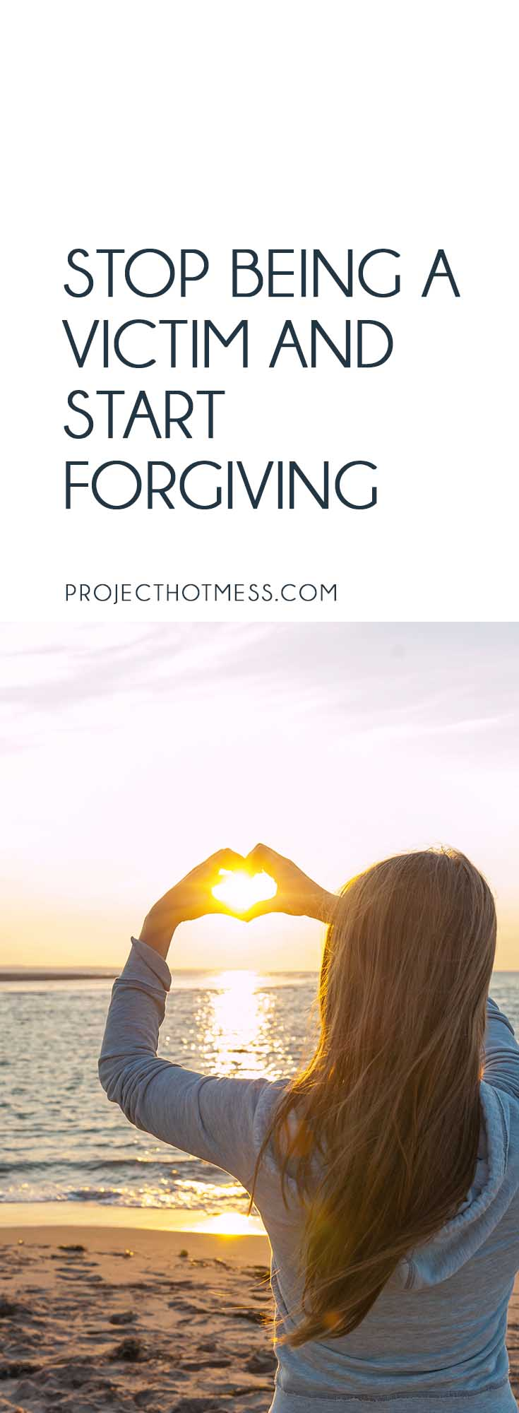 When you're stuck in a negative mindset it's difficult to see how you can stop being a victim, let alone actually start forgiving people, but it's possible.