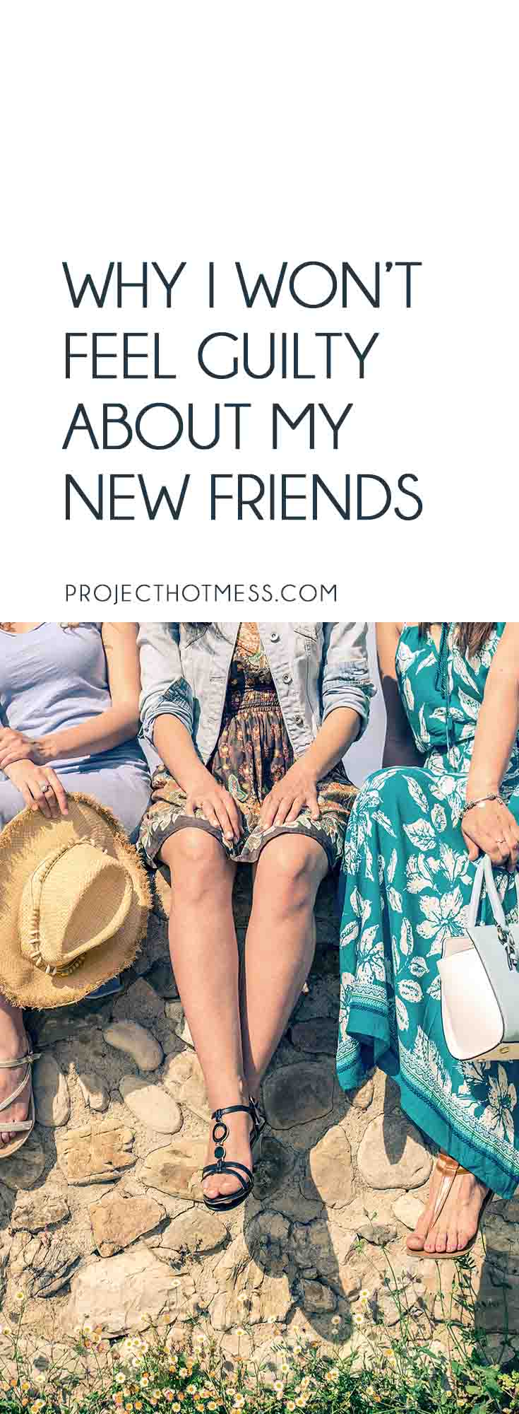 As parts of our life change, so do our groups of friends. I won't be feeling guilty about my new friends, and I won't be ditching my old friends either. Motherhood | Mom Friends | Friendships | Relationships | Couples | Couple Friends | New Friends