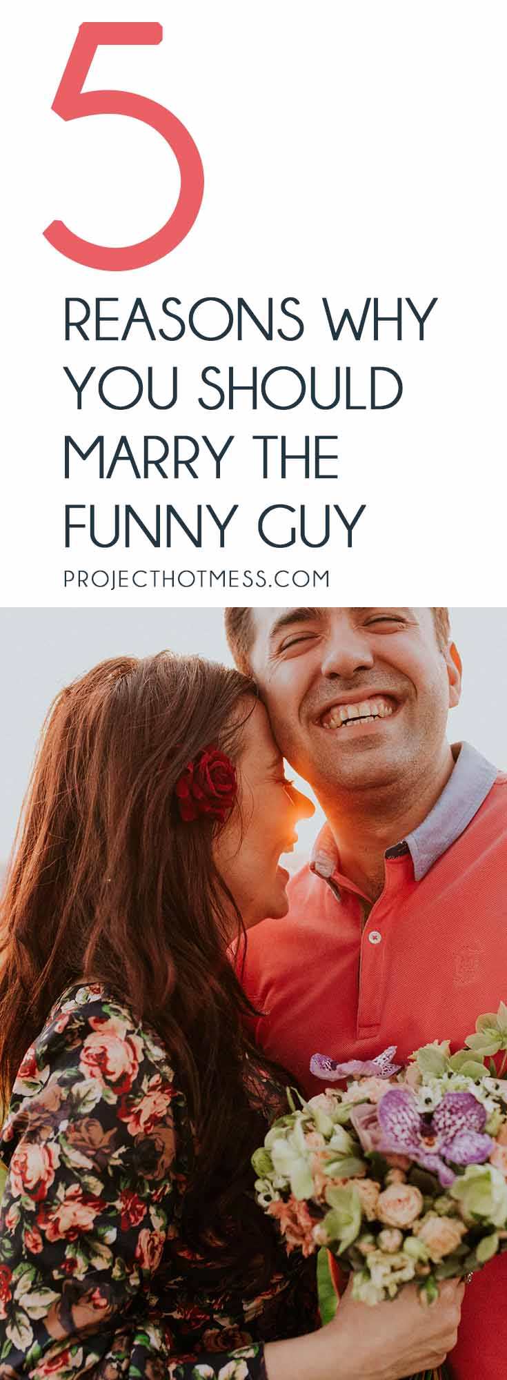 Our mothers may argue that we need to marry the rich guy or the kind guy, but if you want a lasting marriage, you should definitely marry the funny guy. Relationships | Marriage | Partner | Marriage Advice | Marriage Goals | In Love | Love | Marriage Problems | Spice Up Your Marriage | Marriage Ideas | Happy Marriage | Relationship Goals | Relationship Advice | Relationship Tips |