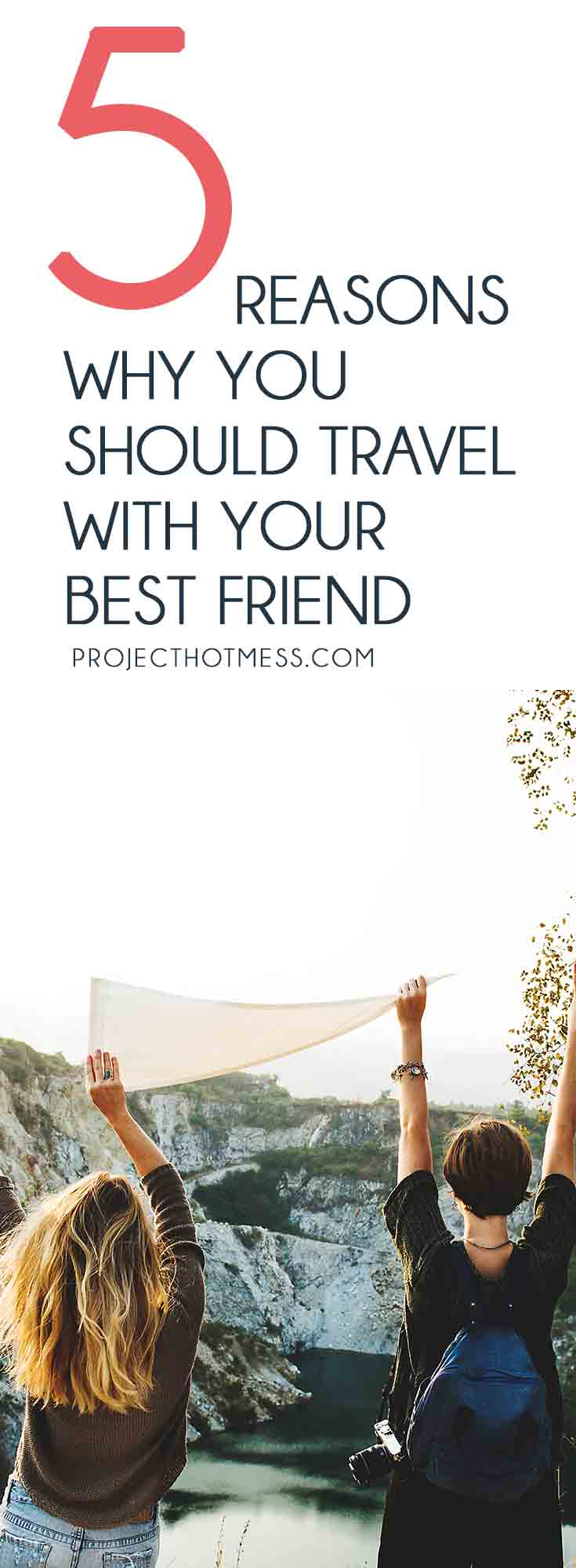 Finding a good travel partner can be tough, you don't know if you're going to get along or if you'll like the same things. So travel with your best friend! Friends   Friendships   Travel   Travel Tips   Travelling When Young   Travelling With Friends   Travel Hacks   Travel Advice