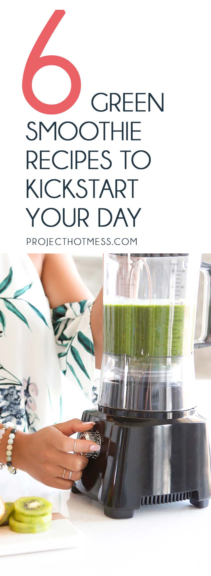 Sometimes you need your morning caffeine kick, other days you need something fresh like one of these green smoothie recipes to kick start your day! Green Smoothie | Healthy Smoothie | Fruit Smoothie | Healthy | Women's Health | Green Smoothie Inspiration | Smoothie Recipe | Breakfast Smoothie | Summer Smoothie | Green Smoothie Recipe