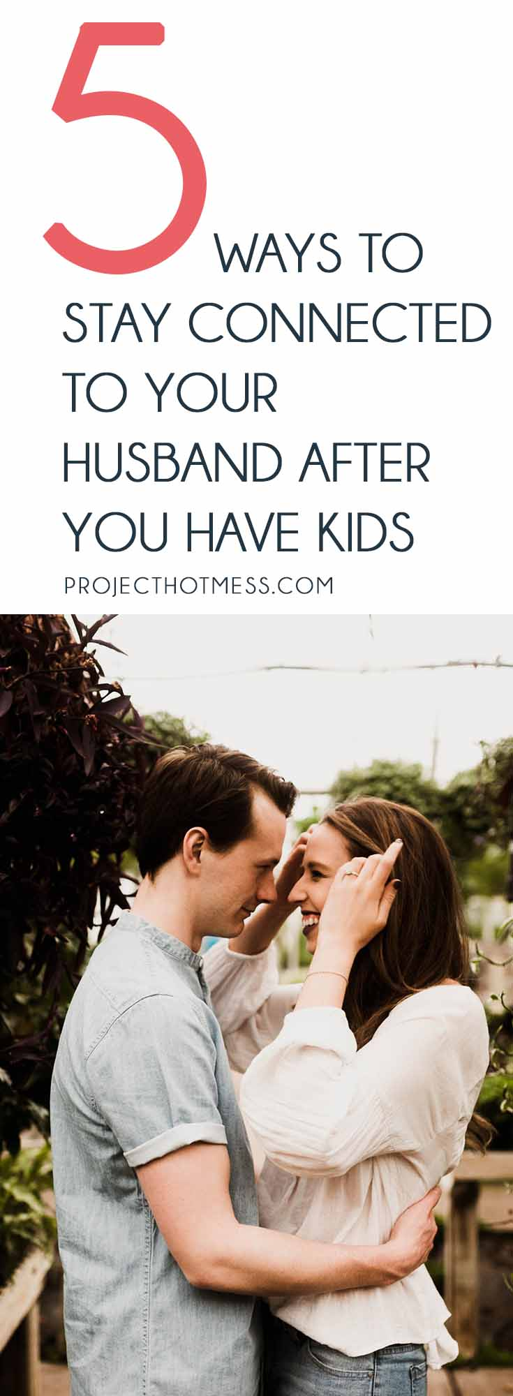 There's no two ways about it, kids change your relationship. But it's still important to stay connected to your husband after you have kids and this is how. Relationships | Marriage | Partner | Marriage Advice | Marriage Goals | In Love | Love | Marriage Problems | Spice Up Your Marriage | Marriage Ideas | Happy Marriage | Relationship Goals | Relationship Advice | Relationship Tips |