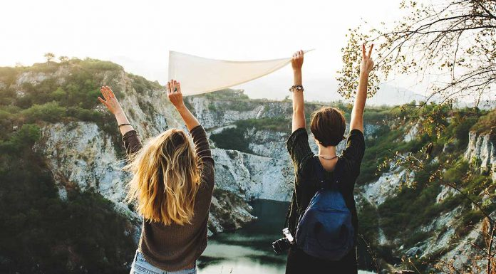 Finding a good travel partner can be tough, you don't know if you're going to get along or if you'll like the same things. So travel with your best friend!