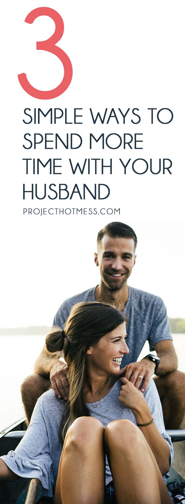 If you want to spend more time with your husband, it doesn't have to be as complicated as we make it. Yes, our lives are busy, but we can make it happen. Relationships | Marriage | Partner | Marriage Advice | Marriage Goals | In Love | Love | Marriage Problems | Spice Up Your Marriage | Marriage Ideas | Happy Marriage | Relationship Goals | Relationship Advice | Relationship Tips