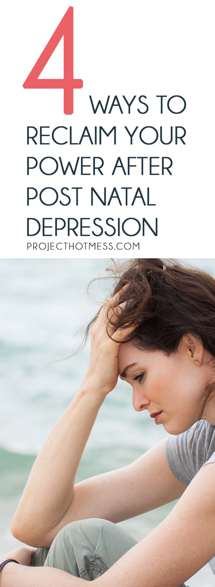There is life after post natal depression, and as difficult as it is to imagine right now, you can reclaim your power. It's not easy, but it can be done.
