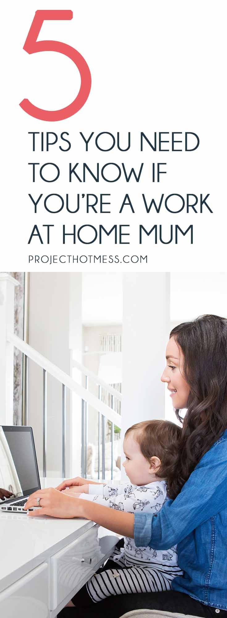 Use these tips to learn how you can be a successful work at home mum - giving you the option of not having to return to the office after having children. WAHM | Working Mother | Work From Home | Returning To Work | Career Mom | Career Mother | How To Work From Home