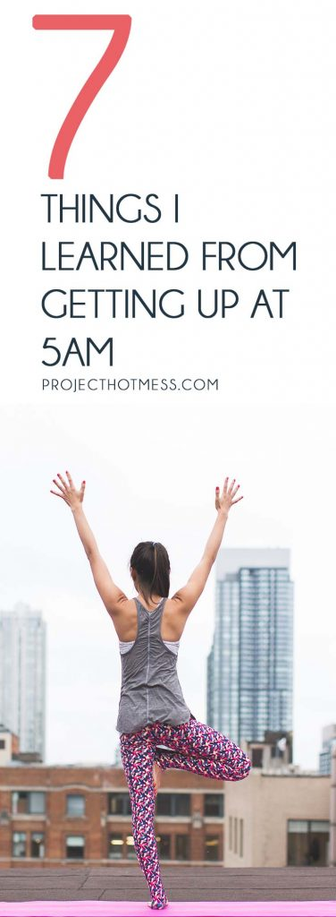 Have you ever considered how getting up early could change the way you manage your day? Here's what I learned from getting up at 5am (and it was amazing!).