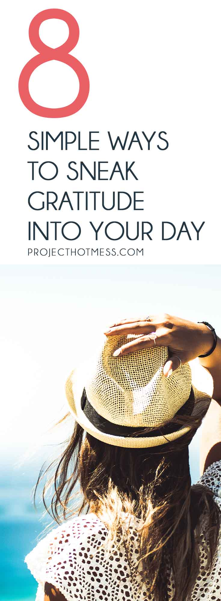 The thought of adding yet another thing to your day can be too much. Which is why it's nice to be able to sneak gratitude into your day in these easy ways.