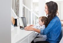 Use these tips to learn how you can be a successful work at home mum - giving you the option of not having to return to the office after having children.