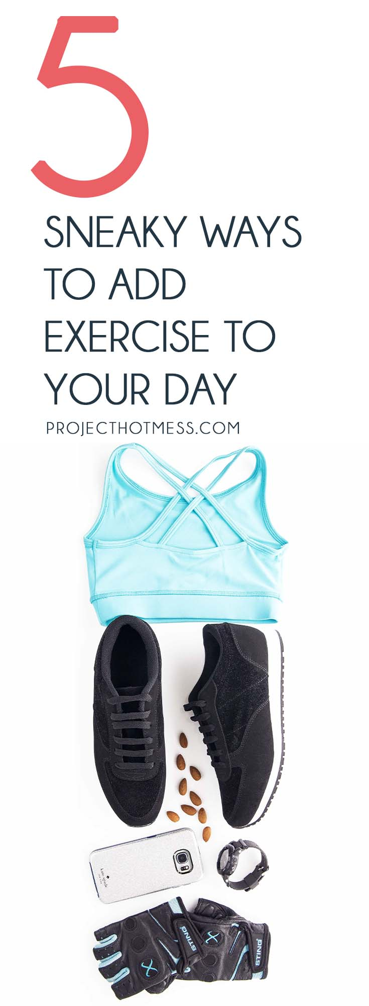 You don't have to spend hours at the gym every day in order to fit exercise into your routine. Here are 5 super sneaky ways to add exercise to your day. Exercise | Health and Fitness | Daily Exercise | Exercise for Women | Exercise Motivation | Exercise Routines | 5 Minute Exercise | Fast Exercise | Quick Exercise