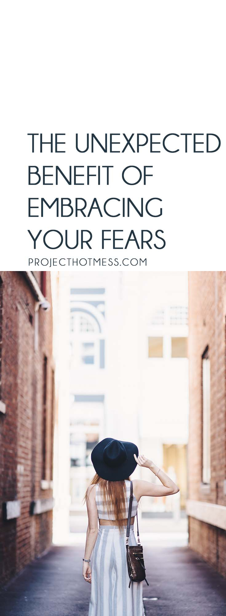 There's no denying we all have things we are scared of and fear. But embracing your fears and using them to your advantage can sometimes be the best option.