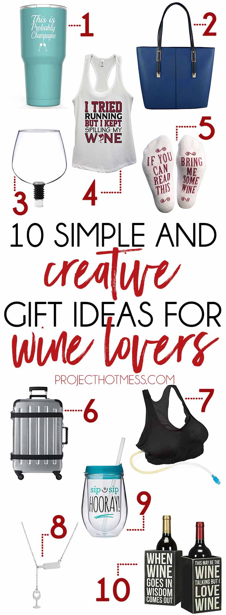 10 Simple And Creative Gift Ideas For Wine Lovers Project Hot Mess
