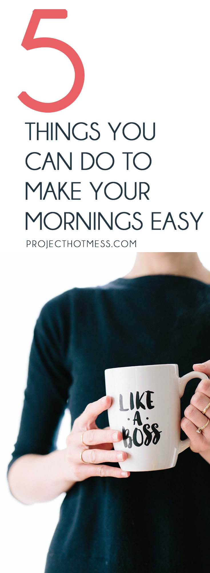 Mornings are crazy and full on so anything you can do to make your mornings easier is going to be a huge benefit. These 5 things can make mornings a breeze. #lifelessons #lifehacks
