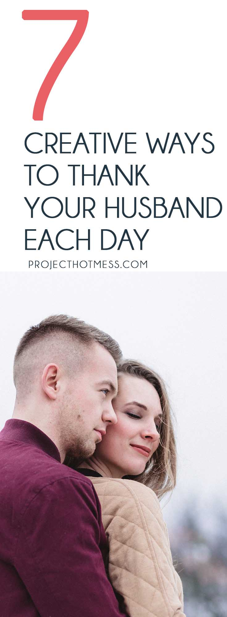 Add a little creativity to the ways you thank your husband each day and challenge him to show thanks too. Watch how the gratitude grows in your relationship. #relationships #marriageadvice #marriagetips #relationshiptips #happymarriage Marriage Advice | Relationship Advice | Happy Marriage | Marriage Tips