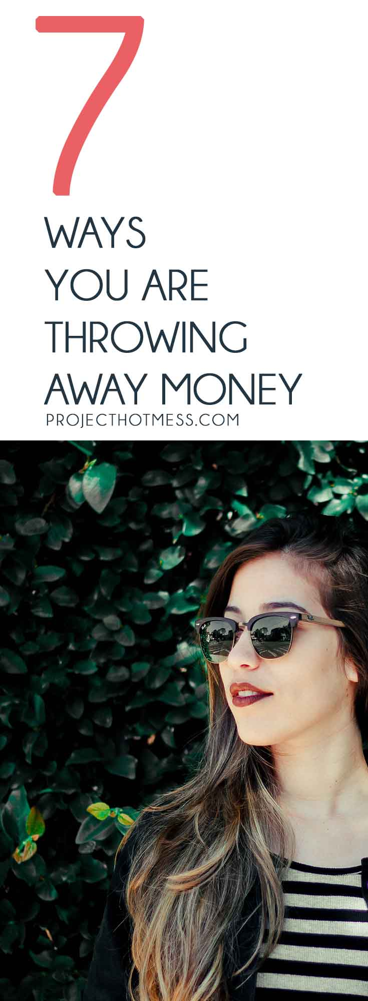 When you work hard, the idea of throwing away money can be a little crazy. But the truth is we all do it. Here are ways you can stop wasting money today. #personalfinance #money #savingmoney #budgeting