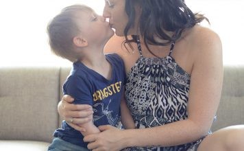 My husband has taught me more about being a mother than I ever imagined possible. Not only about the little things that make motherhood so amazing, but about myself as a mother too and has helped me become a better mother than I ever thought I would be.