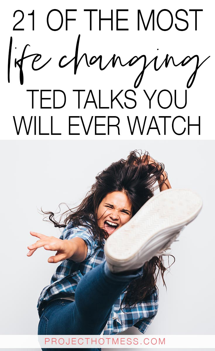 TED Talks can inspire and motivate you, but amazing TED Talks can change your life. These are some of the most life changing TED Talks you will ever watch.