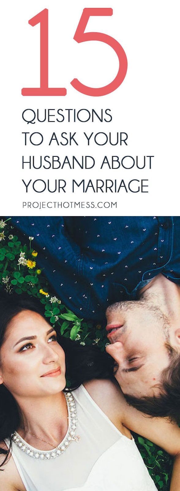 Want to spark off some conversations with your husband and have some deep and meaningful chats? Why not use these 15 questions to ask your husband about your marriage as a starting point and some inspiration? And it's a great date night idea too!