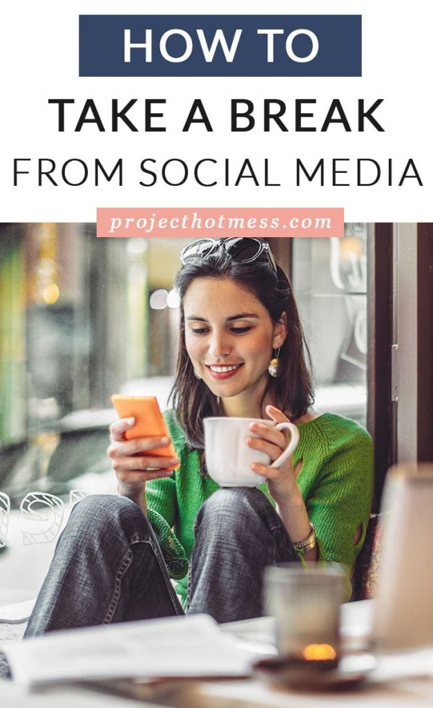 Have you decided it's time to take a break from social media but you're just not sure how to do it? Do you cut all ties or gradually reduce your time? Here's our guide to taking a break from social media the easy way.