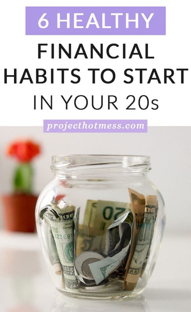 While you may not want to spend your twenties saving for a downpayment on a house (and that's totally okay) there are some financial habits to start in your twenties you should consider, in order to set yourself up for financial success. and to really understand your personal finances.