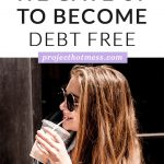 Decided you want to pay off your debt but don't know what you need to cut out? This is what we gave up to become debt free - and it's not what you think!