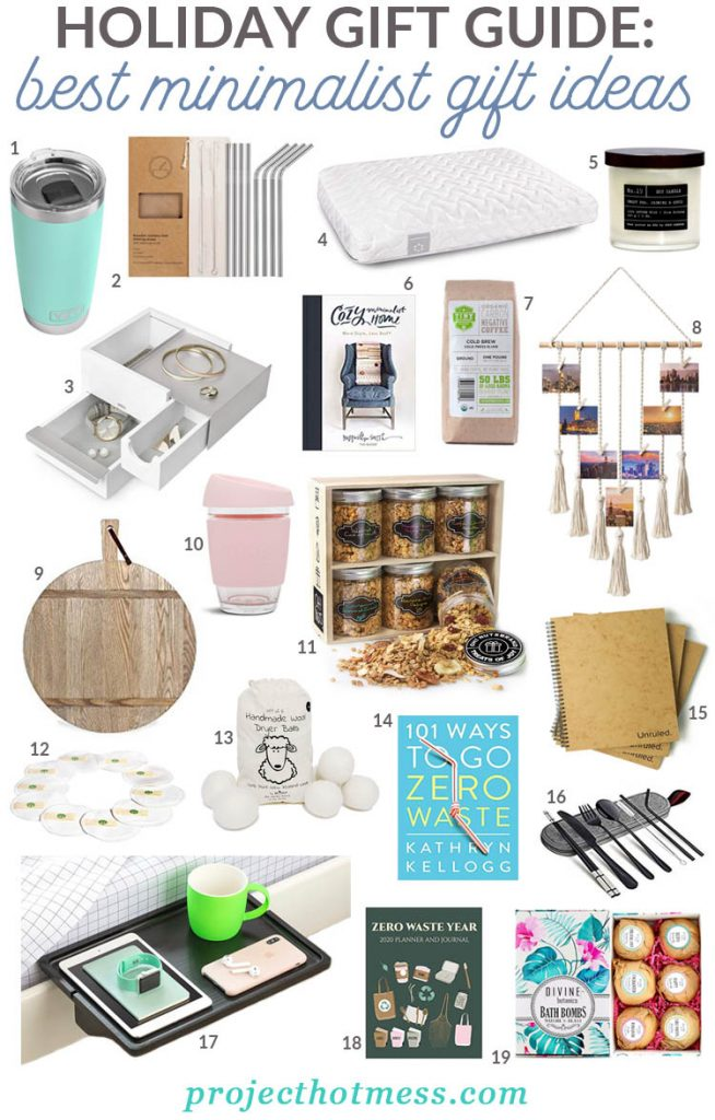Buying gifts for a minimalist can be a challenge. We have you covered with these gift ideas for minimalists that are low impact, practical and thoughtful.