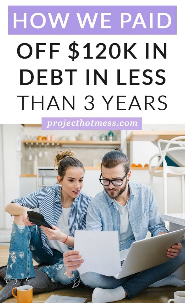 Feel like you don't even know where to start paying off your debt? We paid off $120k in debt in less than 3 years. Use these debt payment tips to see how.