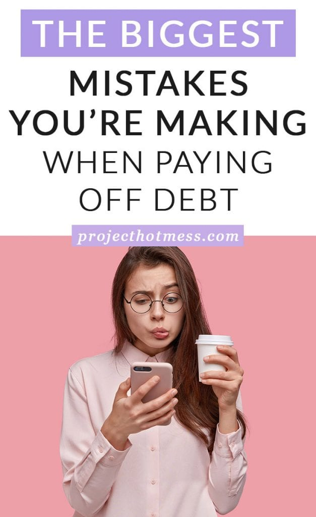 It's easy to make mistakes when you start paying off debt, but these can stop you from achieving your financial goals. Stop making these big financial mistakes today and pay off your debt sooner.