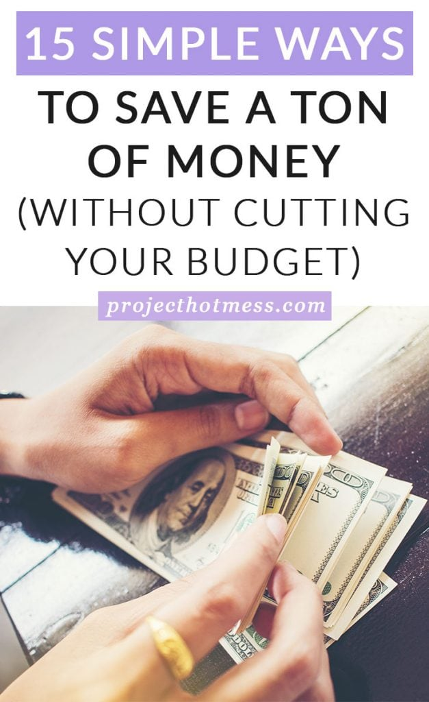 Do you need to save a ton of money but you've already cut your budget as much as you can? Saving extra money isn't impossible, you just have to get creative. Here's how you can save a ton of money without having to cut your budget (or miss out on the things you love).